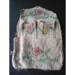 Vide-poche en chanvre années 1900