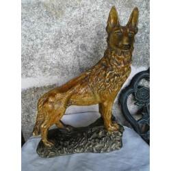 Statue de chien loup 50cm
