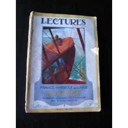 Revue ancienne Lectures pour tous 1923