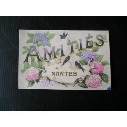 "Carte postale ""Amitiés de Nantes""1918"