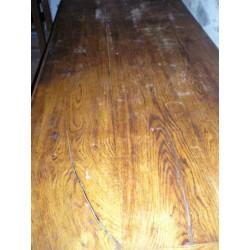 Table de ferme  ancienne en chêne, bon état