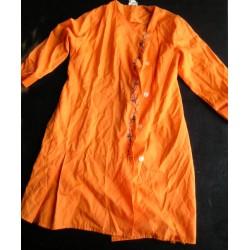 Blouse orange, vintage