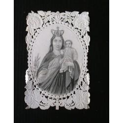 Canivet fin XIXè ou début XXè -image religieuse-pieuse