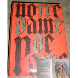 Livre de collection Notre Dame de Paris V Hugo