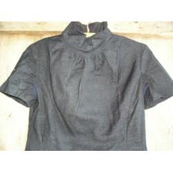 Robe ancienne noire, années 40
