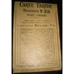 Carte ancienne routière Taride N°25, années 30