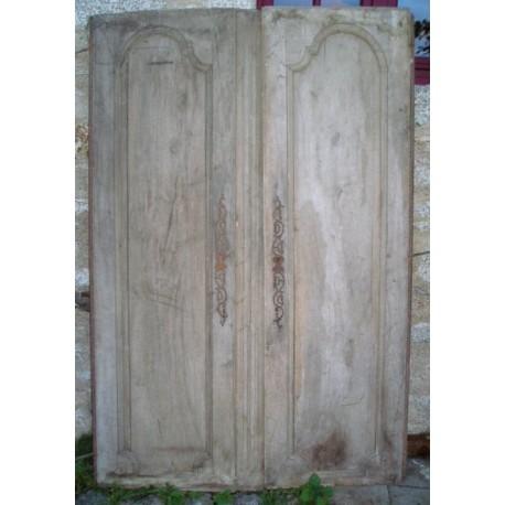 Anciens volets bois ou portes de placards