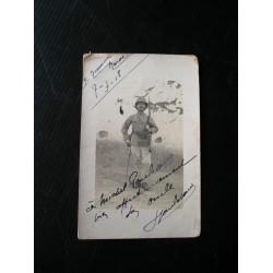 Carte postale ancienne d'un poilu
