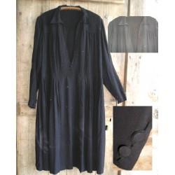 Robe ancienne noire, année 30-40,pour styliste