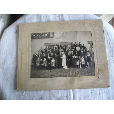 Ancienne photo de mariage années 20-30