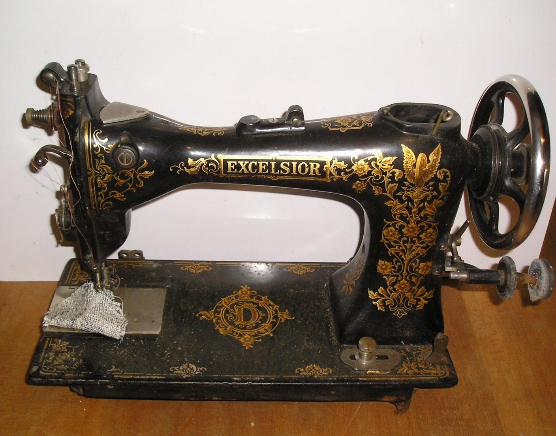 Machine A Coudre Ancienne machine à coudre ancienne excelsior - broc23